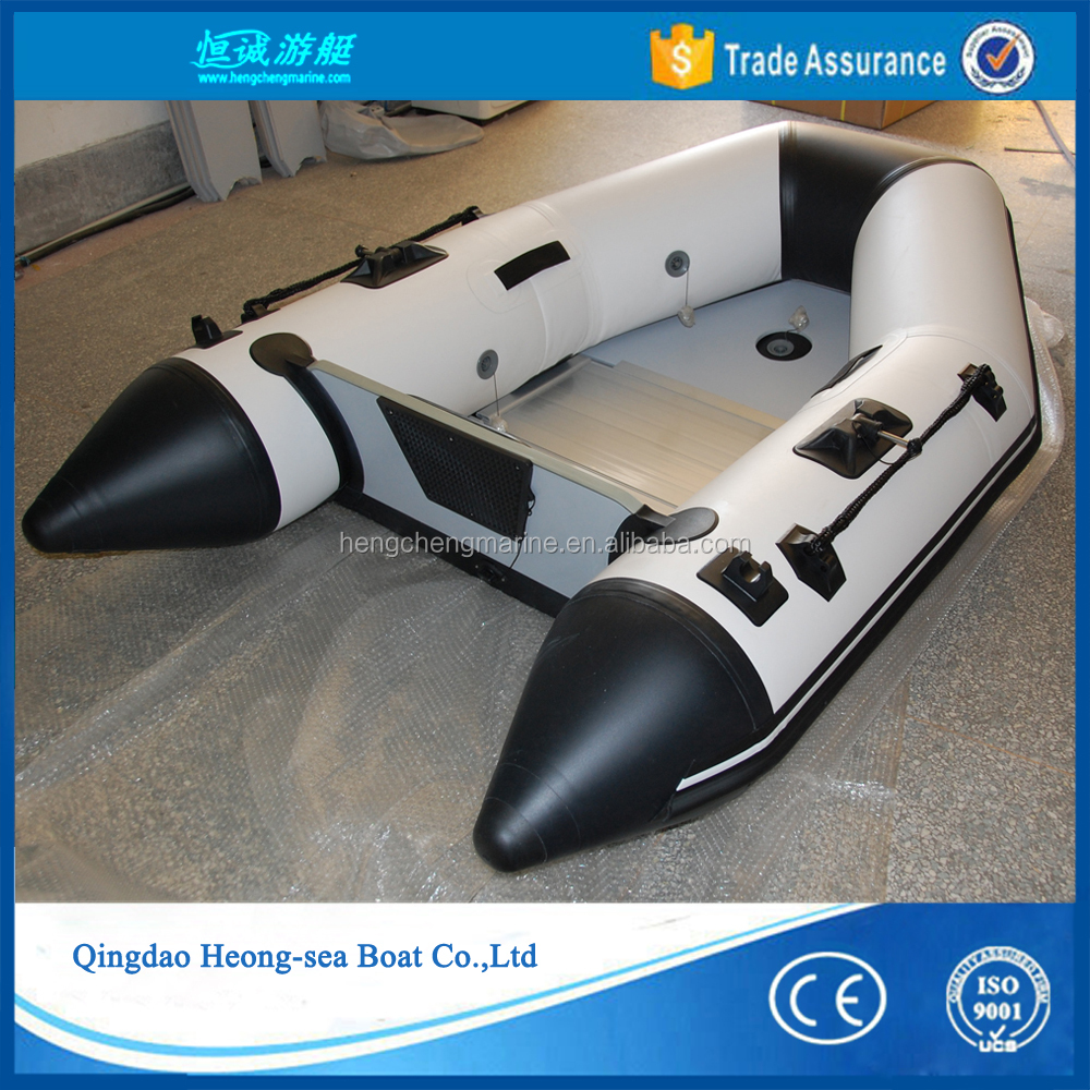 cheap china small single inflatable fishing boat rubber pedal boat for sale