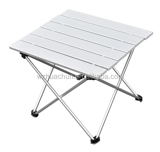 camping aluminum suitcase folding table