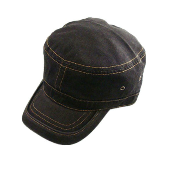 Flat Top Military Dress Hat Winter Hats For Old Man