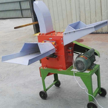 Crop stalks cutting crushing machine