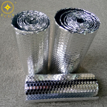 Sun reflective material aluminum foil with bubble laminated insualtion