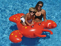 Water Play Equipment Summer Water Fun Giant Rock Lobster Pool Float