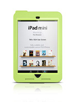 Waterproof/dirtproof/shockproof PC+TPU case cover for Ipad mini 1/2/3 Green color