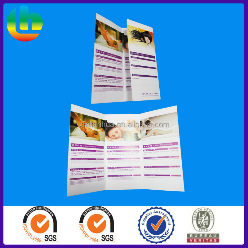 printing brochure /flyer/magazine/catalogue of factory supplier