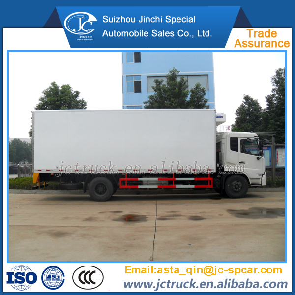 Diesel engine and Manual transmission Type 4x2 refrigeration unit for refrigerated box truck wholesale price