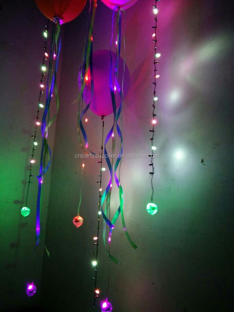 China Manufacture 2016 Led Sparkle Balloon String Lights - Buy Led Lighted Ribbon Garland ...