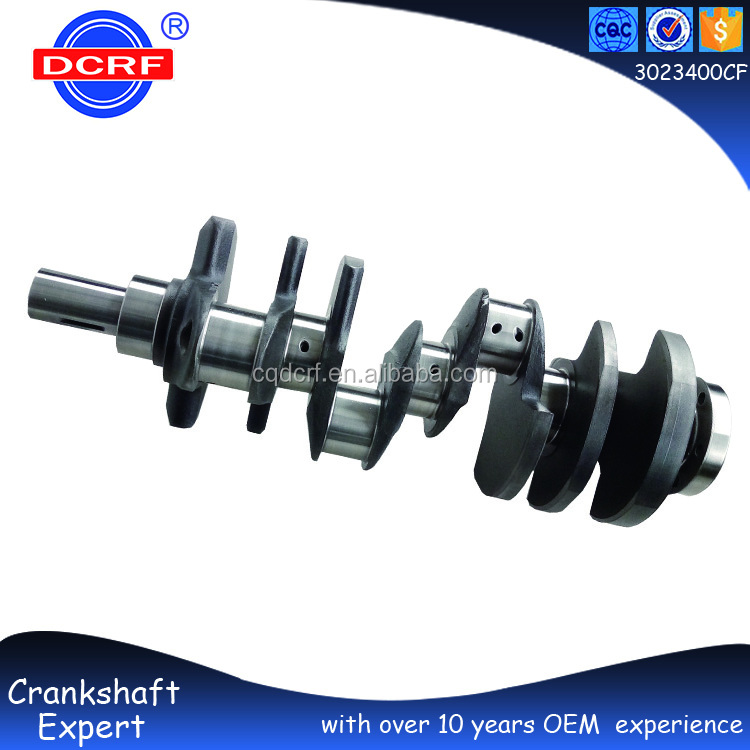 Petrol Engine Parts Crankshaft, Engine Crankshaft Assembly Parts for GM 302
