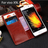 Phone accessories for vivo X9L leather case, custom design flip wallet pu leather mobile cell phone case for vivo X9L