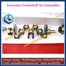 forged steel engine crankshaft S4K for Caterpillar