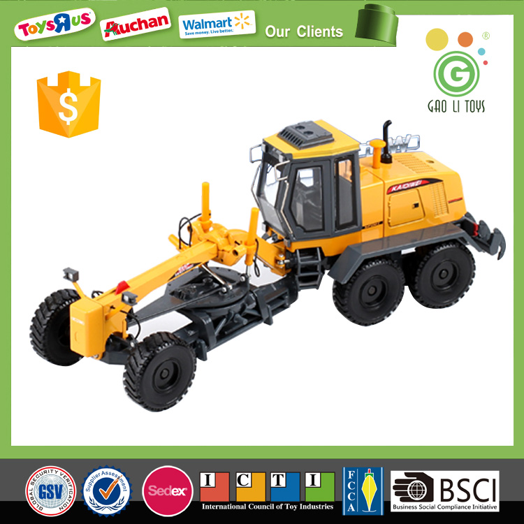 1:35 grader diecast model car, 1/35 diecast grader car model toy