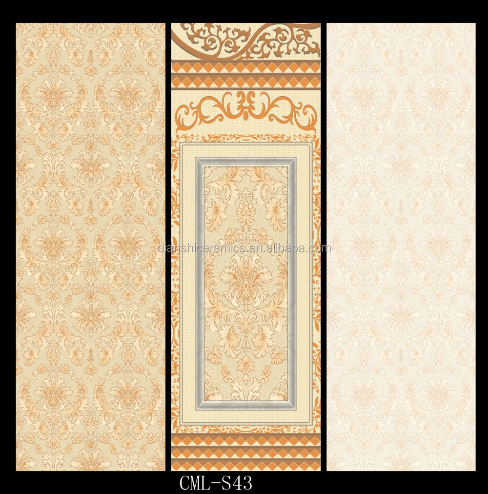 zibo tile 300x900, 300*900 decorative wall tiles flower design, View ...