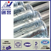 Zinc Galvanized Ringlock System Construction Steel Scaffolding For Sale
