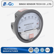 Cheap differential pressure gauge for clean room