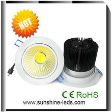 New design!! china 110lm/w high power 5 inch cree led downlight