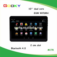 Bulk stock built-in 3g dual core 10 inch tablet pc with voice call
