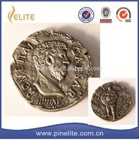 Custom designed 3D craft antique coin, metal coin