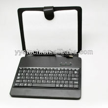 Leather Case for 9 Inch Tablet pc Keyboard USB