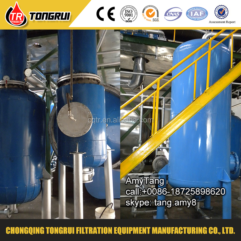 Waste engine oil convert to diesel pyrolysis oil for Waste motor oil to diesel