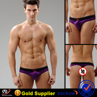 WJ Sex thong for guy man underwear sex toy photo Cotton material