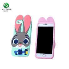 Custom 3D Silicone Phone Case Cute Mobile Phone Silicon Case For I Phone 8
