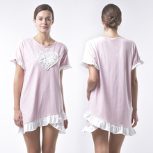 Hot selling comfortable ladies sleepwear sexy women cotton nighty