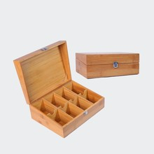 Bamboo Boxes Bamboo Container with Lid