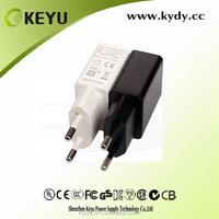 UL CCC CB CE approved mobile and tablet pc 5v 1a mini usb output power adapter with wall mounted style
