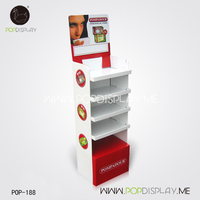 New Style Pop Up Point Of Custom Sale Advertising Cardboard Display Stand