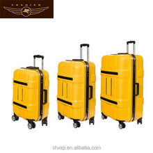 aluminium frame travel carry on air express suitcase