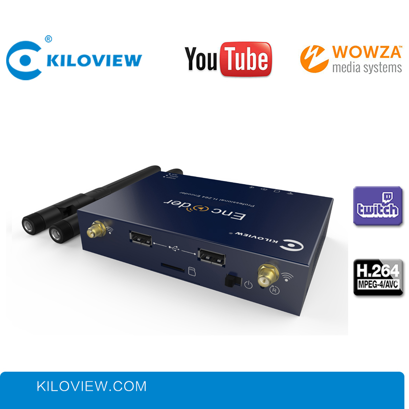 Kiloview IPTV Streaming Encoder H.264