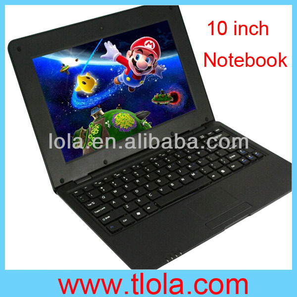 10 inch Android Mini Laptop Tablet PC with WIFI Camera Bluetooth