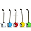 Mini Golf club shape Ballpoint Pen with golf ball clock golf promotional desktop gift