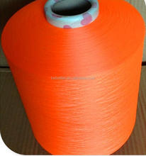 75D/24F/36F Polyester PBT Yarn For Knitting/Weaving Space Dyed Yarn