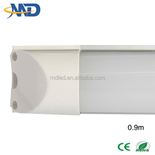 12w T8 china supplier led tube light 3ft 90-277V Led Integration fluorescent Tube t8 900m