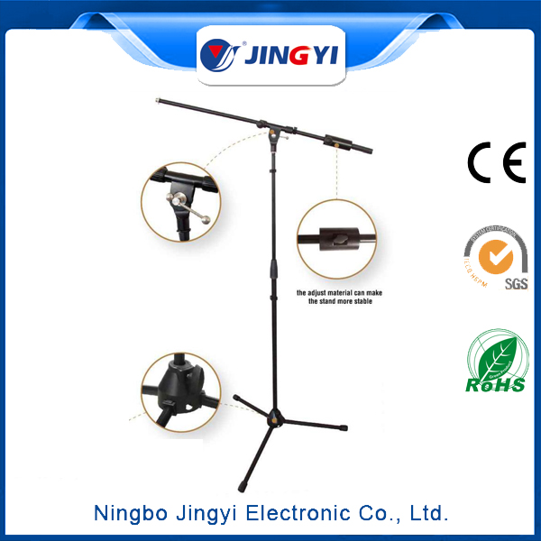 Wholesale custom microphone stand flexible small electronic mic display stand