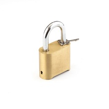 High quality and security 4 digits brass combination padlock 50mm