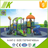 2015 new desgin children used plastic slide game for sale