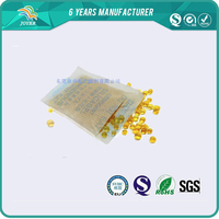 Allochroic silica gel desiccant of strong security for toilet paper