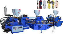 four color PVC TPR Sole Injection Molding Machine(two head)