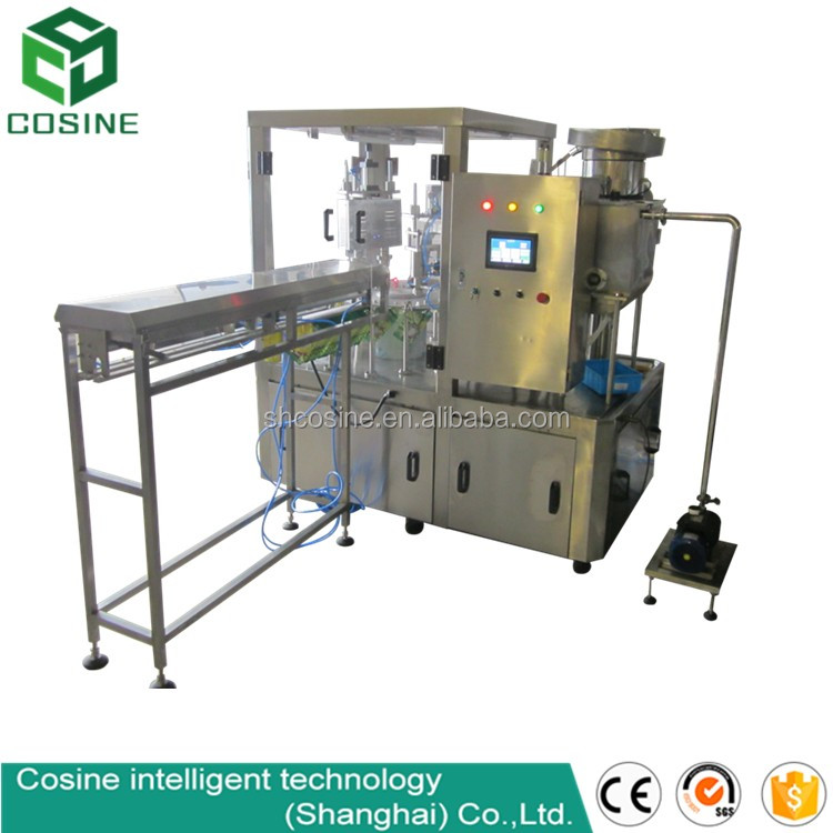 Cosine - Shanghai factory automatic fruit juice stand up bag filling packaging machine