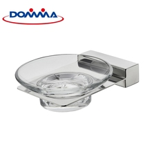 Shower glass dish toilet accessories dry soap holder for hotel home