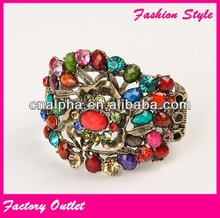 2014 fashion cheap crystal handmade bracelet ideas for women