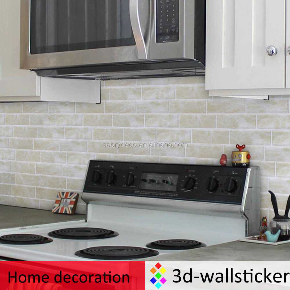 High gloss self adhesive wallpapers 3d home decoration for home wall mosaic art