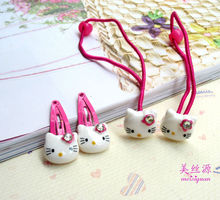 Manufacture Hello Kitty high quality baby hair accessories