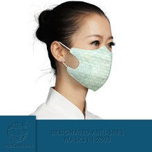 World leading technique physical inactivation N95 disposable anti infectious disease and air pollution masks