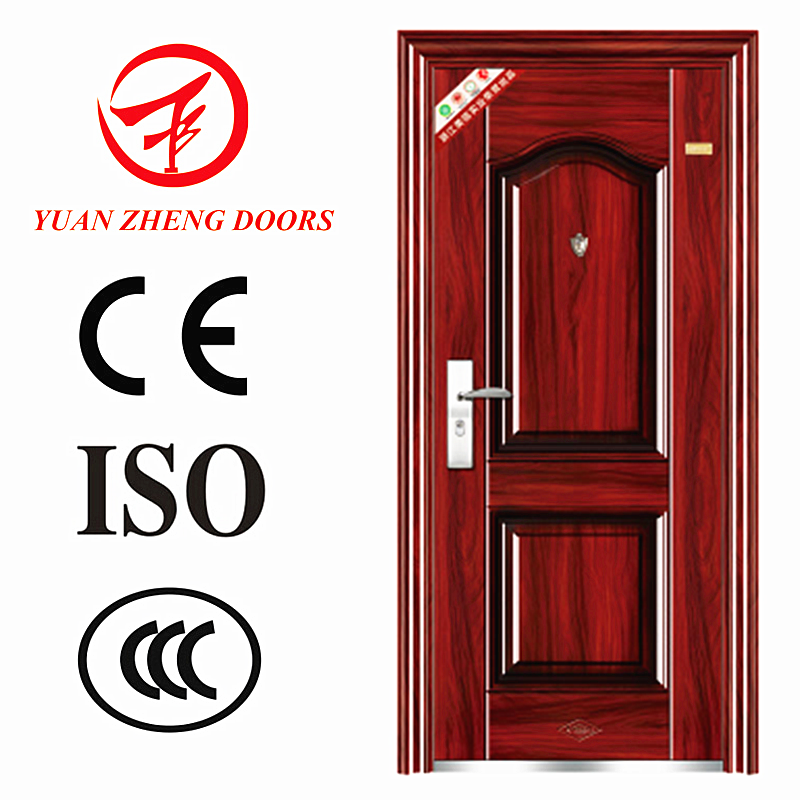China Wholesale wood color used metal security doors