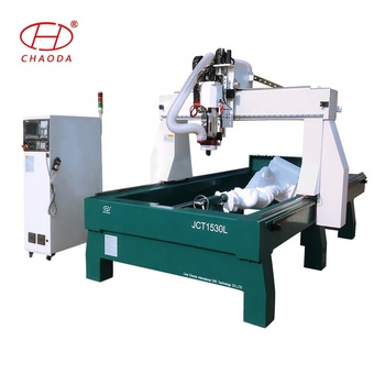 Affordable price 4axis foam router cnc 1530 3d molding machine from China