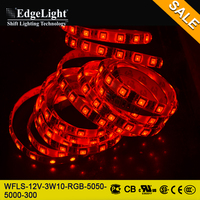 EdgeLight hot sales battery powered led strip light 5050 SMD RGB color