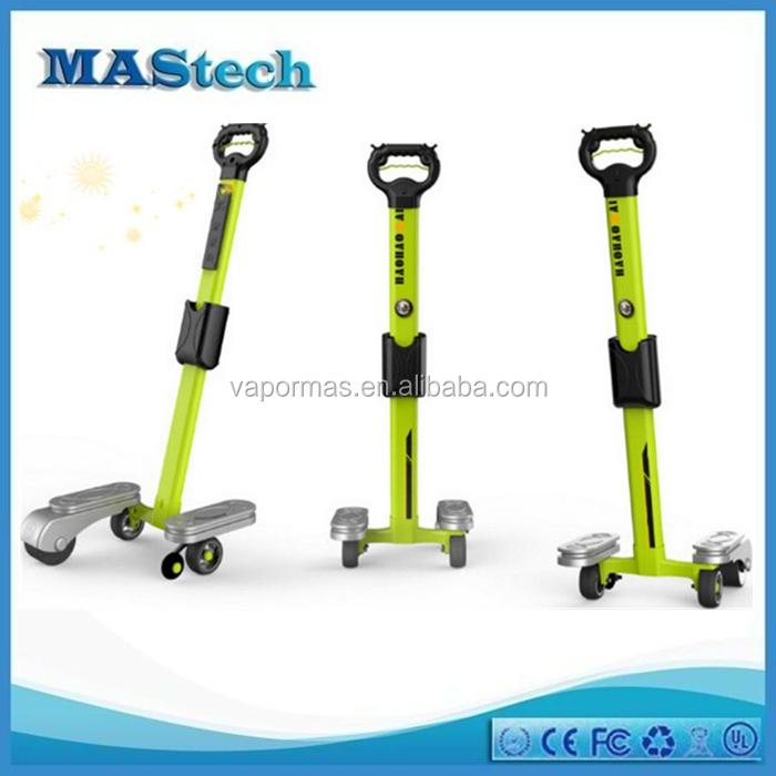 two wheel stand up electric scooter with handle two wheel electric skateboard