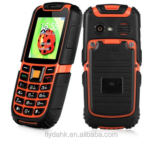 cheapest bar Rugged Feature military grade warterproof mobile phone with button ip67 s6